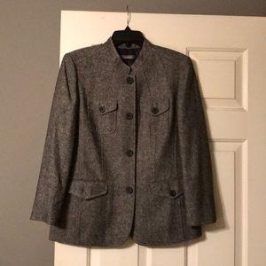 NWT Liz Claiborne Blazer Jacket Sz 12 Petite